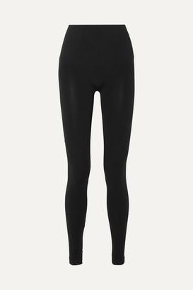 Wolford Net Sustain Aurora Modal-blend Jersey Leggings - Black