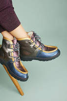 Penelope Chilvers Metallic Patchwork Boots