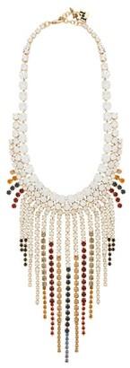 Rosantica Sublime Crystal-embellished Necklace - Multi