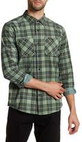 Volcom Kanter Plaid Modern Fit Flannel Shirt