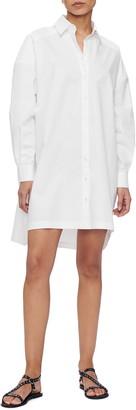 Anine Bing Aubrey Long Sleeve Shirtdress