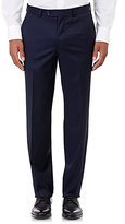 Barneys New York MEN'S TWILL TROUSERS-NAVY SIZE 30