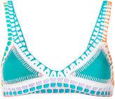 Kiini Liv bikini top - women - Nylon/Polyester/Spandex/Elastane - S