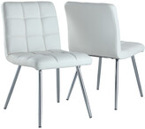 Monarch Set Of 2 Metal Dining Chairs