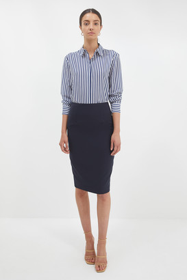 Celeste Wool Pencil Skirt