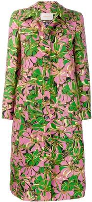 La DoubleJ x Mantero botanic print coat