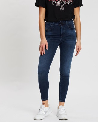Diesel Slandy High Skinny Jeans