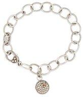 Judith Ripka Sapphire Charm Bracelet