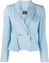 Liu Jo Double-Breasted Peplum Blazer