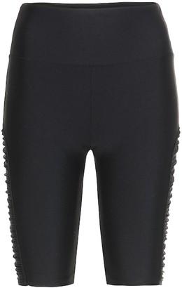 Lanston Sport Delta nylon biker shorts