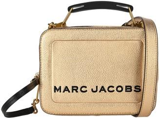 Marc Jacobs The Metallic Textured Mini Box Bag