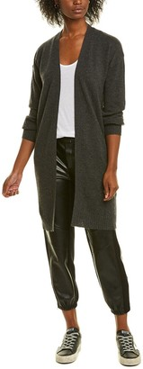 Forte Cashmere Long Cashmere Cardigan