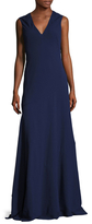 Carven Classic V-Neck Gown