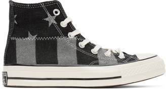 Converse Black Stars Chuck 70 High Sneakers
