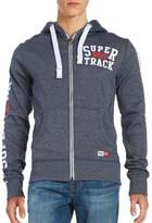 Superdry Logo Zip-Front Hoodie