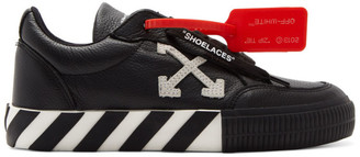 Off-White Off White Black Arrow Low Vulcanized Sneakers