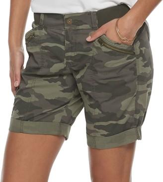 Sonoma Goods For Life Women's SONOMA Goods for Life Utility Bermuda Shorts