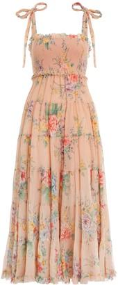 Zimmermann Zinnia Tiered Sun Dress