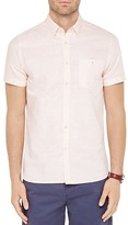 Ted Baker Mysong Stripe Short Sleeve Regular Fit Shirt
