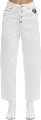 MM6 MAISON MARGIELA Rianna Flared Cotton Denim Jeans