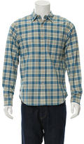 Alex Mill Plaid Button-Up Shirt w/ Tags