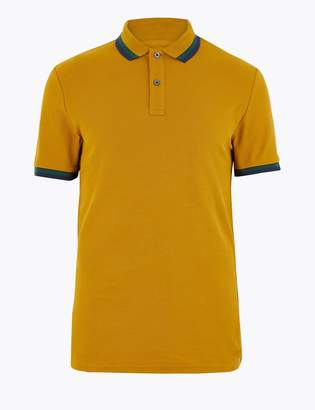 M&S CollectionMarks and Spencer Pure Cotton Polo Shirt