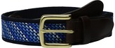 Vineyard Vines Ombre Whale Canvas Club Belt Men's Belts