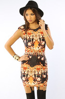 Backstage The Hello Tiger Dress in Wild