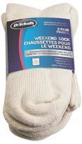 Dr. Scholl's Dr. Scholls - Weekend Sock - 2 pairs