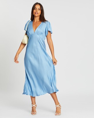 Capulet Hermosa Bias Midi Dress