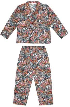 Bonpoint Dormeur floral cotton pajamas
