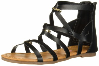 Josmo Girls' Lauren Flat Sandal