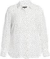 Lafayette 148 New York Lafayette 148 New York, Plus Size Scottie Silk Dot Print Blouse