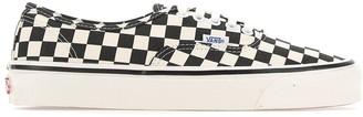 Vans Checkered Effect Low Top Sneakers