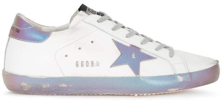 Golden Goose iridescent Superstar leather sneakers