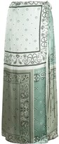 Amiri paisley maxi skirt