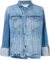 Frame boxy denim jacket