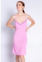 Thumbnail for your product : PJ Salvage Tropical Modals Solid Dress, Lilac Rose Small