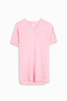120% Lino V-Neck T-Shirt