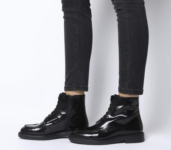 c86aedf92d5 Alex Lace Boots Black Polish