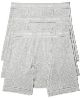 Calvin Klein Cotton Classics Boxer Briefs, Pack of 3