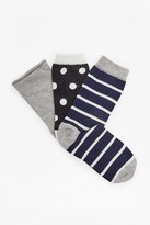 French Connection Sanna 3 Pack Socks