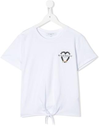 Givenchy Kids sequin logo T-shirt