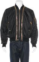 Alexander McQueen Puffer Bomber Jacket