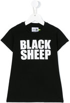 Nununu Black Sheep print T-shirt - kids - Cotton - 2 yrs
