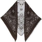 fe-fe jacquard pattern scarf