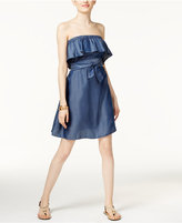 MICHAEL Michael Kors Strapless Peasant Dress