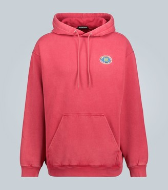 Balenciaga Hooded sweatshirt with logo