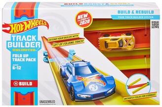 Mattel Hot Wheels Track Builder Unlimited Fold Up Track Pack