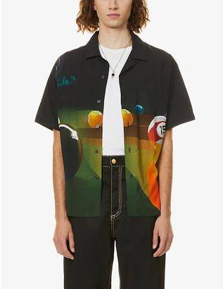Stussy Pool Hall woven short sleeve shirt